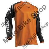 MBS Tricou motocross Thor Sector Zones S8, portocaliu/negru, L, Cod Produs: 29104429PE