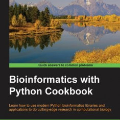 Bioinformatics with Python Cookbook - Carte in engleza