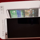 Telefon HTC Desire 820, Alb, Orange, Single SIM