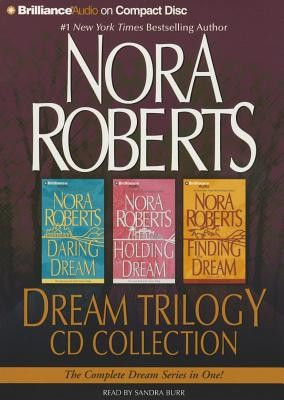 Nora Roberts Dream Trilogy CD Collection: Daring to Dream, Holding the Dream, Finding the Dream foto