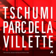 Tschumi Parc de La Villette - Carte in engleza