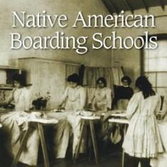 Native American Boarding Schools - Carte in engleza