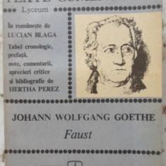 Faust - Johann Wolfgang Goethe, 400922 - Carte Teatru