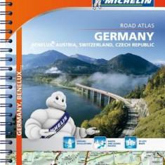 Michelin Germany/Austria/Benelux/Switzerland Road Atlas - Harta Rutiera