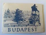 Album  10 mini vederi alb/negru din Budapesta,1950