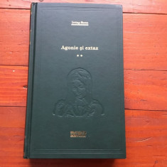 Carte biblioteca Adevarul - Agonie si extaz de Irving Stone volumul II / 478 pag - Roman