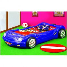 Patut Bobo Car - Plastiko - Albastru - Pat tematic pentru copii
