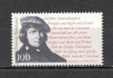Germania 1991 - ANIVERSARE Imnul national, timbru MNH, R4