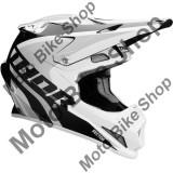 MBS Casca motocross Thor Sector Ricochet, alb/gri, L, Cod Produs: 01105181PE