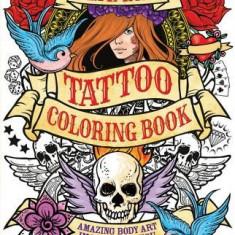 Ultimate Tattoo Coloring Book - Carte de colorat