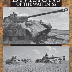 Panzer Divisions of the Waffen-SS - Carte in engleza