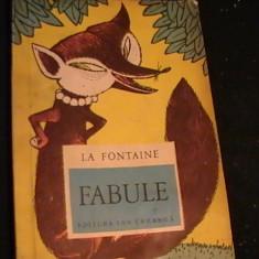 FABULE LA FONTAINE--ED- ION CREANGA- - Carte educativa