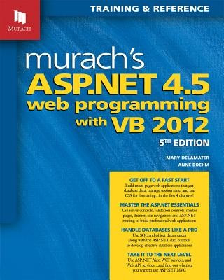 Murach's ASP.Net 4.5 Web Programming with VB 2012 foto mare