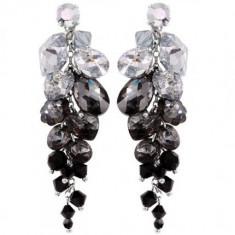 Cercei cu cristale swarovski Haven Waterfall 6, 5 cm - Cercei Swarovski