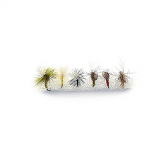 Set muste MUSTAD EMERGERS 6BUC/PLIC - Fly Fishing