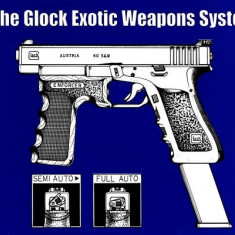Glock Exotic Weapons System - Carte in engleza