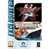 Joc PC Ubisoft IL2 Sturmovik 1946 + Silent Hunter 4 Wolves of The Pacific - Jocuri PC