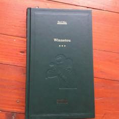Carte biblioteca Adevarul - Winnetou de Karl May volumul III / 446 pag ! - Roman