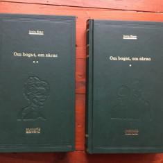 Carte biblioteca Adevarul - Om bogat om sarac de Irwin Shaw / 2 volume ! - Roman