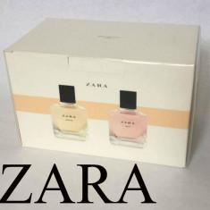 Parfum dama ZARA Oriental Fruity femei set 2 X 100 ml NOU Sigilat ! - Parfum femeie Zara, Apa de toaleta, 200 ml, Floral oriental