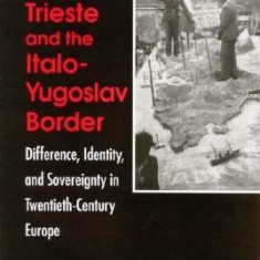 Problem of Trieste and the Italo-Y: Difference, Identity, and Sovereignty in Twentieth-Century Europe - Carte in engleza