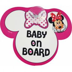 Semn de avertizare Baby on Board Minnie Disney Eurasia