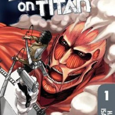 Attack on Titan 1 - Carte in engleza