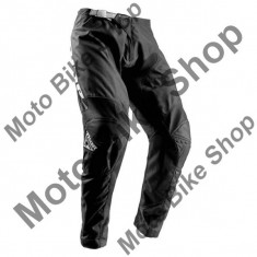 MBS Pantaloni motocross Thor Sector Zones S8, negru, 44, Cod Produs: 29016407PE - Imbracaminte moto
