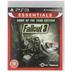 Joc consola Bethesda Fallout 3 GOTY Essentials PS3 - Joc PS1