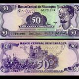 Nicaragua 1984 - 50 cordobas UNC - bancnota america