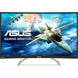 Monitor LED Gaming Curbat Asus VA326H 31.5 inch 4ms Black, Mai mare de 27 inch, 1920 x 1080