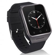 Smartwatch 3G, ZGPAX S8, Android 4.4, smartwatch DIGI, WIFI 3G, Aluminiu, Negru, Android Wear