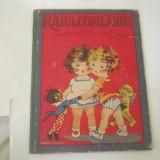 Carte copiii foarte rara interbelica ed socec raiul copilariei versuri de bunicu - Colectii