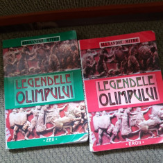 LEGENDELE OLIMPULUI 2 VOL - Carte mitologie