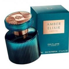 Parfum Amber Elixir Crystal*Oriflame*50ml*sigilat*de dama - Parfum femeie Oriflame, Apa de parfum, Floral oriental