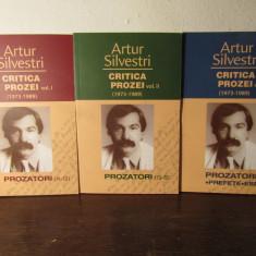 ARTUR SILVESTRI -CRITICA PROZEI ( 3 VOL)