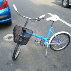 Bicicleta Pegas pliabila reconditionata - Bicicleta retro, 17 inch, 26 inch, Numar viteze: 1
