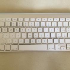 Tastatura Apple wireless A1255 - perfect functionala, Fara fir, Bluetooth