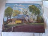 Tablou  Pictura ruseasca  33x43cm ulei pe carton