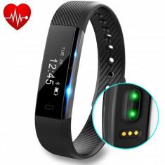 Smart fitness activity tracker bratara ceas iPhone/Android - Bratara fitness