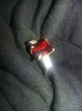 Inel dama antic,inel foarte vechi Argint stantat 925,inel argint pietre vintage