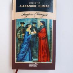 REGINA MARGOT -Alexandre Dumas = vol 1 = Biblioteca Adevarul nr.5 - Carte de aventura