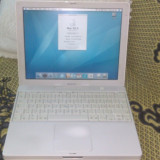 IBOOK G4 A1054 PPC 1, 2GHZ/1, 25GHZ RAM, HDD 30 GB +INCARCATOR ORIGINAL FUNCTIONAL - MacBook, 12 inches, PowerPC G4, 1001- 1500Mhz, 1 GB