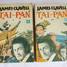 TAI-PAN, James Clavell (2 volume), Ed. Orizonturi 1992
