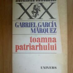 W2 Toamna Patriarhului - Gabriel Garcia Marquez - Roman