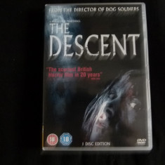 The Descent - dvd - Film thriller Altele, Engleza