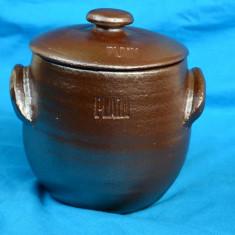 VAS AVAND CAPAC DIN CERAMICA SCANDINAVA - Arta Ceramica