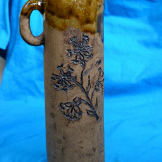 OBIECT DECORATIV VECHI DIN CERAMICA SCANDINAVA, MODEL UNICAT - Arta Ceramica
