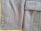Sacou barbati CARLO STEFANI pentru CERRUTI marimea 50, XL, superb !