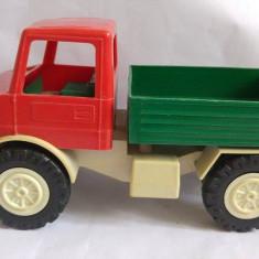 Masina camion vintage, West Germany, plastic, Kaku, Robust, stanta, 26x14x13cm - Masinuta